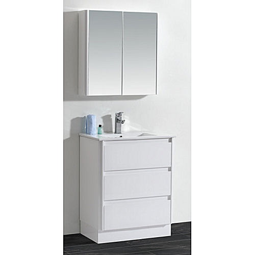 Bathroom vanity and cabinet set bgss079b 800 light up for Bathroom cabinet 800